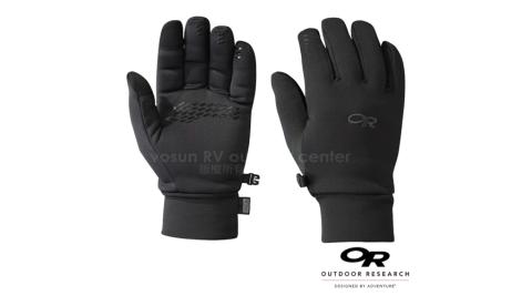 【美國 Outdoor Research】新款 男 PL 400 SENSOR GLOVES 防風透氣彈性保暖手套_觸控手套.止滑.機車_黑 70745