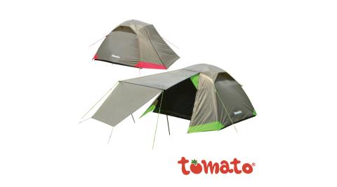 【tomato】tomato 517型休閒五人帳篷 5人帳 帳篷 小家庭五人帳