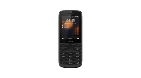 Nokia 215 4G 雙卡資安長待機直立手機-黑(符合部隊及科技園區使用)