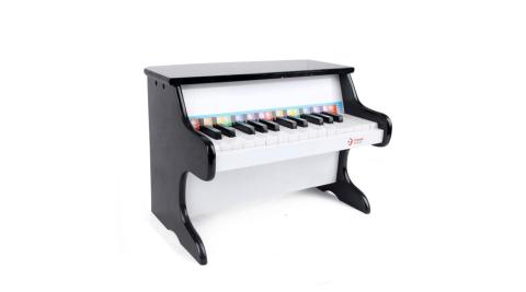 【Classic world 德國經典木玩客來喜】 黑色木製鋼琴