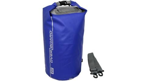 【OVERBOARD】OB1005 CLASSIC 側背防水袋 20L 藍色