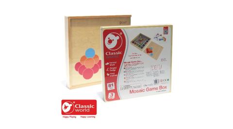 【Classic world 德國經典木玩客來喜】 小球配對遊戲盒