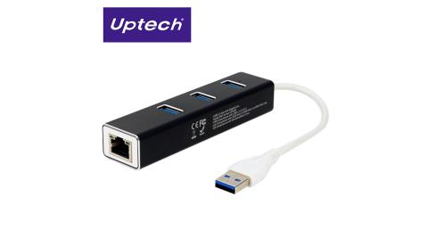 【Uptech】NET136H USB3.1 Giga免驅動網路卡+HUB集線器
