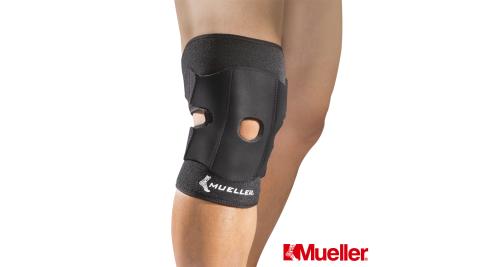 【幕樂Mueller】MUA57227 髕骨強化可調式膝關節護膝 可調式膝關節護具 黑色