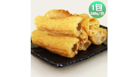 皇覺 火鍋好朋友鍋物必備老油條家庭號1包(600g/包,約50-55根)