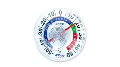 【Dr.AV】室外專用防水溫度計/2入(GM-90T)