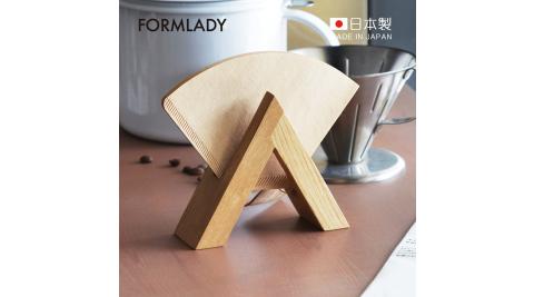 【日本FORMLADY】小泉誠 ambai日製原木咖啡濾紙收納架