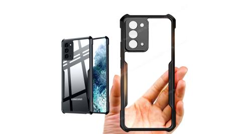 XUNDD for 三星 Samsung Galaxy Note 20 生活簡約雙料手機殼-黑