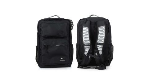 NIKE 大型氣墊背帶後背包-雙肩包 旅行包 肩背包 筆電包 AIR MAX 黑@CK2668-010@