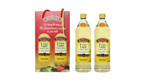 【百格仕】西班牙原裝進口淡味橄欖油1L二入