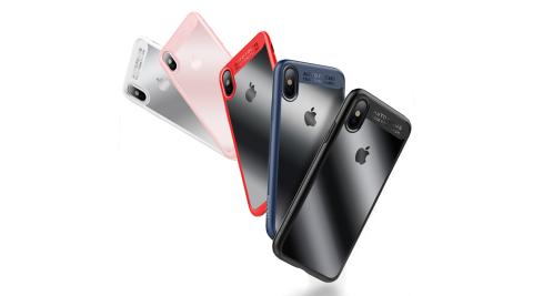 USAMS明盾系列 iPhone X 透明手機殼 全包邊保護殼