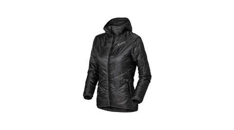 【瑞士ODLO】525161 女款 primaloft 長效保暖防風防潑水保暖外套(石墨灰) 雙面可穿