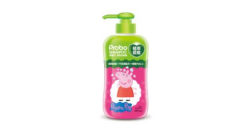 快潔適 博寶兒 植萃低敏洗髮露(650ml-佩佩豬)