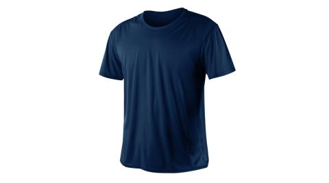 INSTAR 男女涼感短T恤-0秒吸排抗UV輕量吸濕排汗 丈青@3103910@