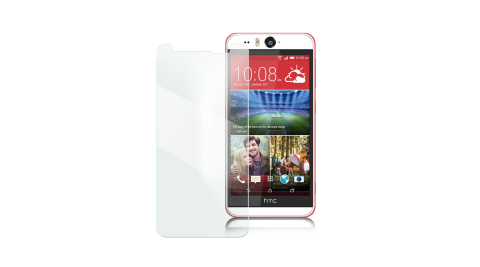 Xmart for HTC U11 EYEs 薄型 9H 玻璃保護貼-非滿版