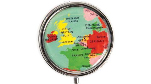 《Rex LONDON》迷你旅用藥盒(地圖)
