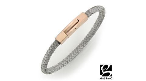 MASSA-G Titan XG2 5mm雪松銀超合金鍺鈦手環