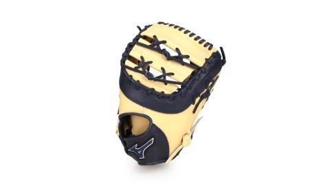 MIZUNO 硬式一壘手手套-右投  棒球 壘球 美津濃 淺卡其丈青@312740-R151@