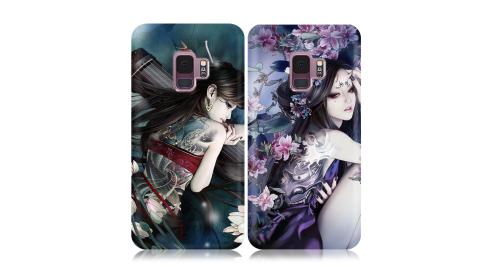 張小白正版授權 Samsung Galaxy S9 古典奇幻插畫 滿版空壓保護殼