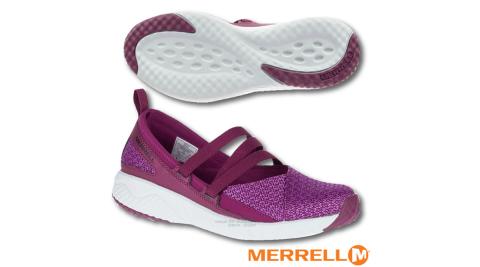 【美國 MERRELL】女新款 1SIX8 MJ AC + 輕量戶外透氣休閒鞋(GRIP耐磨抓地鞋底+Fresh抗菌防臭)_J45704 紫