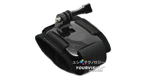 GoPro 固定式 高彈力舒壓手腕帶 臂帶 for HERO 4 3+ 3 2