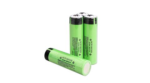 日本松下Panasonic NCR18650B 3350mAh 凸點/凸頭 認證版充電鋰電池(2入) 無保護板