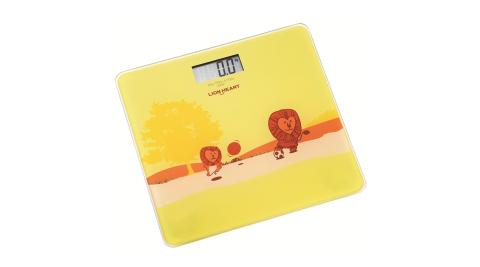 【獅子心】強化玻璃電子體重計 / LBS-008 / 體重器