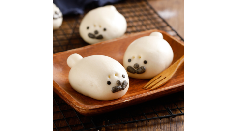 《禎祥》海獅甜包(綠豆)(10粒/包,共三包)