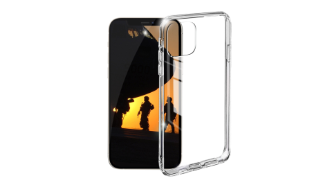 Xdoria for iPhone 12 Mini 5.4吋 刀鋒 Crystal全透明軍規超厚晶透防摔殼