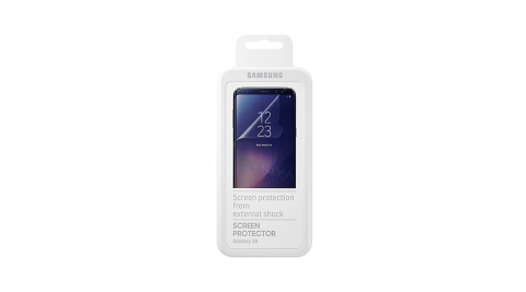 SAMSUNG GALAXY S8 原廠高透螢幕保護貼 (東訊代理_盒裝)
