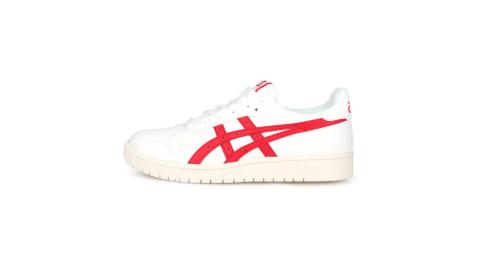 ASICS JAPAN S 男休閒運動鞋-慢跑 亞瑟士 復古 白紅@1191A212-100@