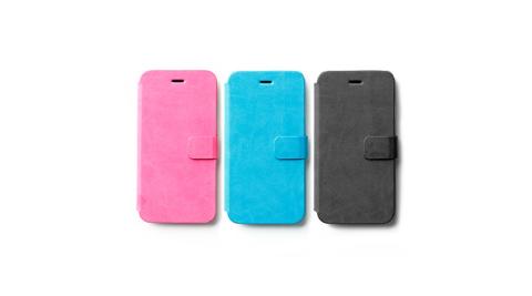 ZENUSAVOCAppleiPhone6簡單皮革書本式皮套