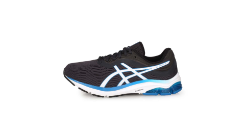 ASICS GEL-PULSE 11 男慢跑鞋-4E-寬楦 路跑 亞瑟士 鐵灰白藍@1011A708-021@