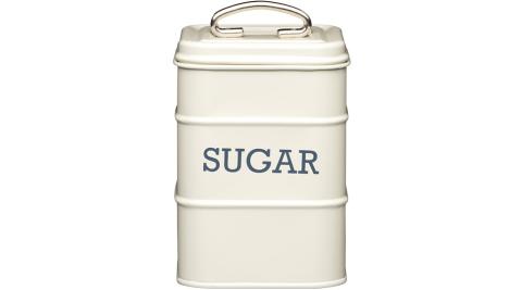 《KitchenCraft》復古糖收納罐(奶油黃)