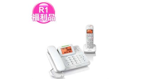 【福利品】Alcatel 阿爾卡特 XL-300 助聽功能數位答錄子母電話
