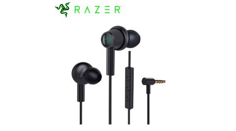 Razer 雷蛇 Hammerhead Duo Console 戰錘狂鯊入耳式耳機麥克風 黑