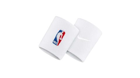 NIKE NBA DRI-FIT 護腕套-客場-腕帶 一雙入 路跑 籃球 飛人喬丹 白紅藍@NKN03100OS@