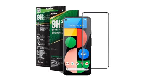 NISDA for Google Pixel 4a 5G 完美滿版玻璃保護貼-黑色