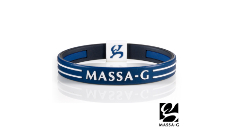 MASSA-G Energy Plus雙面鍺鈦能量手環-深藍