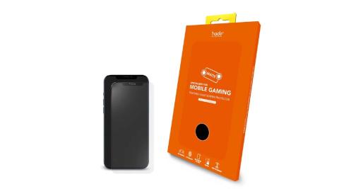 Hoda Apple iphone 12 mini/12/12 pro/12pro max手遊專用霧面窄黑邊滿版玻璃保護貼 (5.4吋/6.1吋/6.7吋)