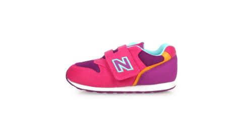 NEWBALANCE 女童復古慢跑鞋-WIDE-寬楦 麂皮 NB 996 桃紅紫橘藍@IZ996TMG@