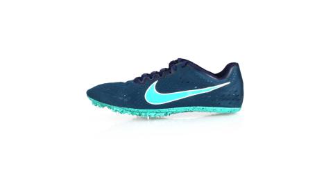 NIKE ZOOM VICTORY ELITE 2-男女限量田徑釘鞋-中長距離  競賽 墨藍湖水綠@835998400@