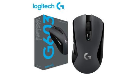 【logitech 羅技】G603 LIGHTSPEED 無線遊戲滑鼠