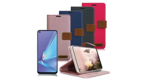 Xmart for OPPO A72 度假浪漫風支架皮套