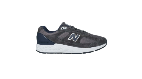 NEWBALANCE 男休閒運動鞋-2E-寬楦 慢跑 麂皮 NB N字鞋 深藍灰@MW1880D1@