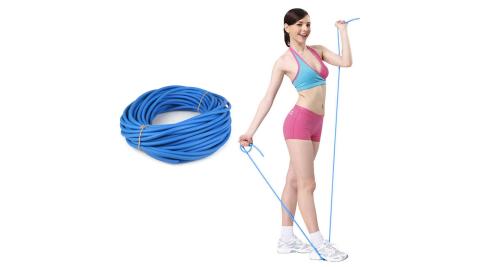 AURORA 拉力繩-42M-厚度3MM-彈力繩 伸展 阻力繩 訓練 瑜珈繩 藍@6028801-286C@