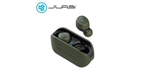 【JLab】GO AIR 真無線藍牙耳機(全觸控式) 墨綠