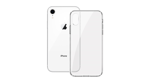 ACEICE for iPhone XR 全透晶瑩玻璃水晶防摔殼