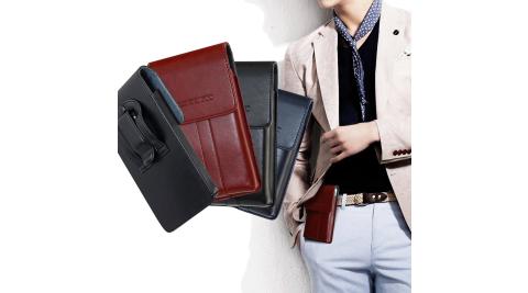 CB J7 Pro / XZ Premium / A77 / R11 / R9s / U11 5.7吋以內 帥氣直立手機腰包皮套