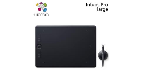 Wacom Intuos Pro Large 創意觸控繪圖板 PTH-860/K0